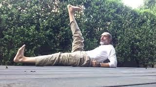 יוגה עם תיכון מיתר 7  - חיזוק הבטן והיציבה