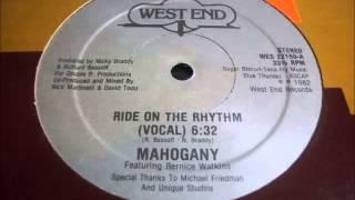 Mahogany - Ride On The Rhythm (Dub Mix)