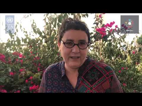 AKID2030- Message de solidarité de Mme Naima Zitan