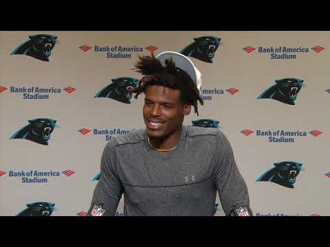 Cam Newton talks deep throws, CMC and vegan diets