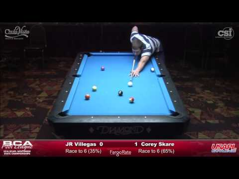 J R Villegas vs Corey Skare (Final Match!)