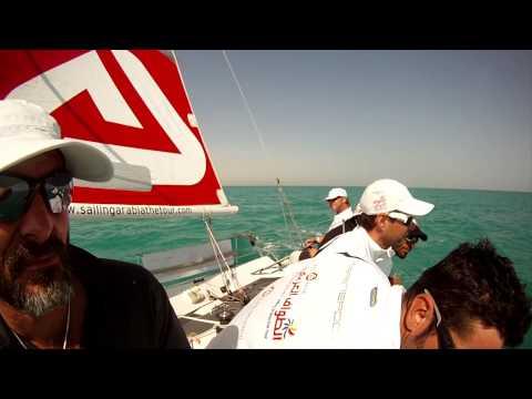 Sidney Gavignet onboard EFG Bank Monaco boat