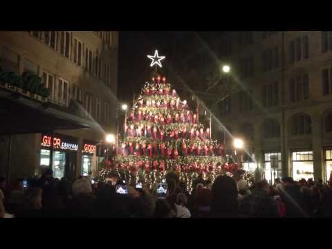 Kids of Zurich performing Jingle Bell Rock
