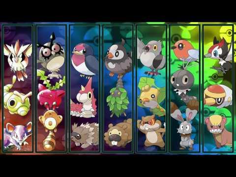 All Pokémon Wild Battle Themes GEN 17