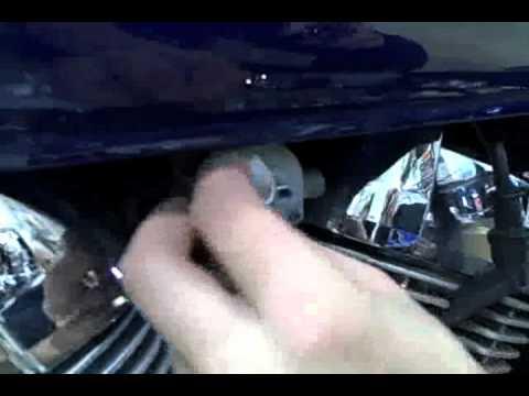 55-301 Chrome Fuel Shut-Off Cover Show Chrome Accessories