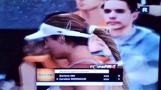 Darlene Sex vs  Caro Wozniacki
