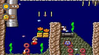 Let's Play Peach is Missing [SMW-Hack] - Part 3 - Suche bei den Yoshi-Torpedos
