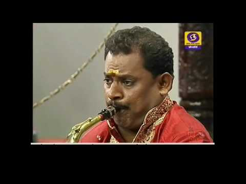 Classical Music Thyagaraja Keerthana on Saxophone