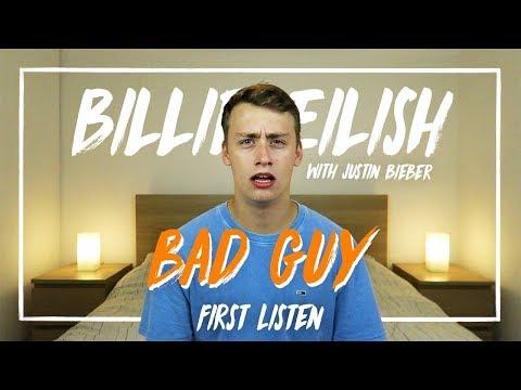 Billie Eilish (with Justin Bieber) | bad guy (First Listen) Mp3