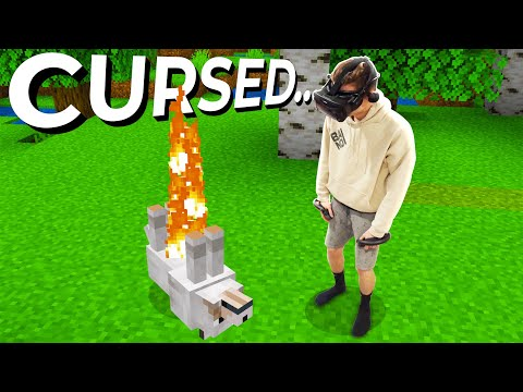 Minecraft VR is Cursed...