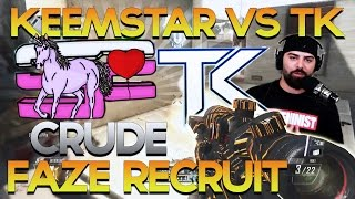 Keemstar vs tK FIGHT! Crude & FaZe Clan, FaZe Recruit Tomorrow & New Team - Red Scarce