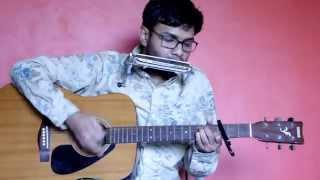 Shayad yehi hai pyar cover on harmonica+guitar