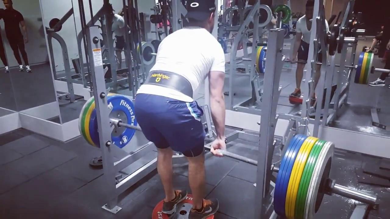 Sebastian: 120kg RDLs
