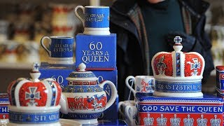 От «брексита» до королевской свадьбы: что изображают на «политической посуде»