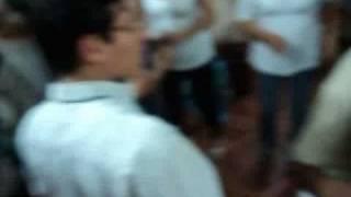 Bailando cumbia Peruana en el rico Agustino 1