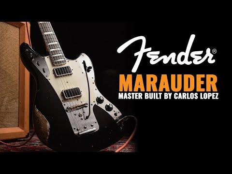 Fender Custom Shop Marauder Super Aged Black Master Built by Carlos Lopez | CME Gear Demo