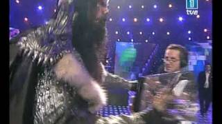 LORDI with the Eurovision Award winning Eurovision 2006