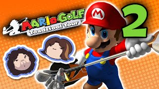 Mario Golf Toadstool Tour: Absolutely Average - PART 2 - Game Grumps VS