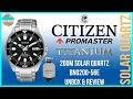 Great Plain Jane Diver! | Citizen Promaster Titanium 200m Solar Quartz BN0200-56E Unbox & Review