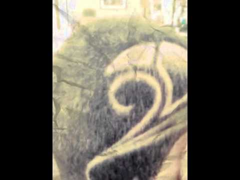 Haircuts designs tribal music notes