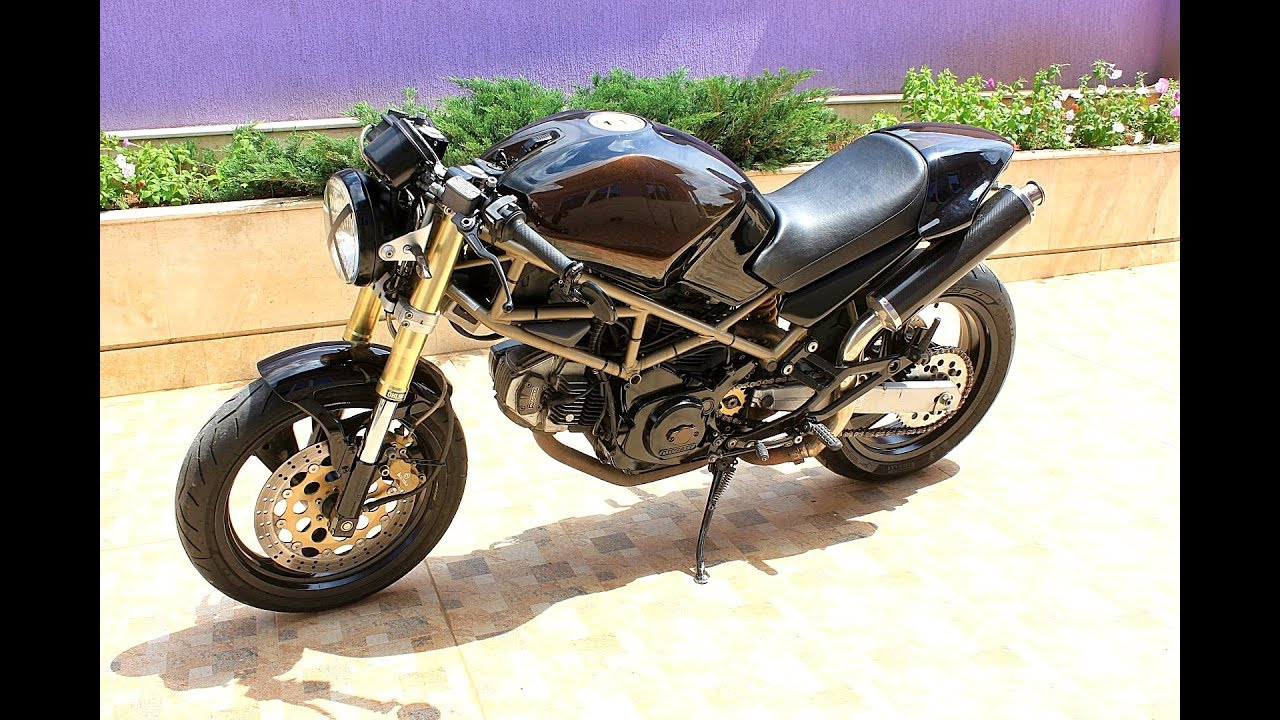 Ducati Monster 600 Cafe Racer Custom Youtube
