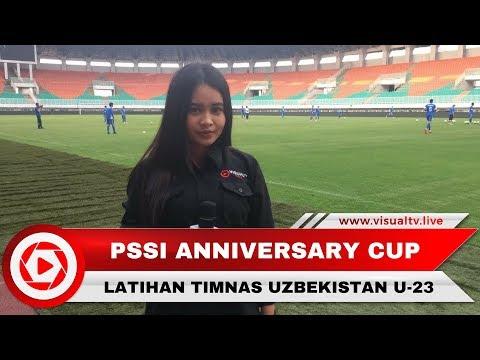 Latihan Tim Nasional Uzbekistan U-23, Jelang PSSI Anniversary cup 2018