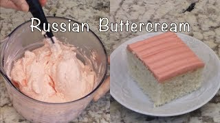 Russian Buttercream Frosting - Sweetened Condensed Milk - Perf…