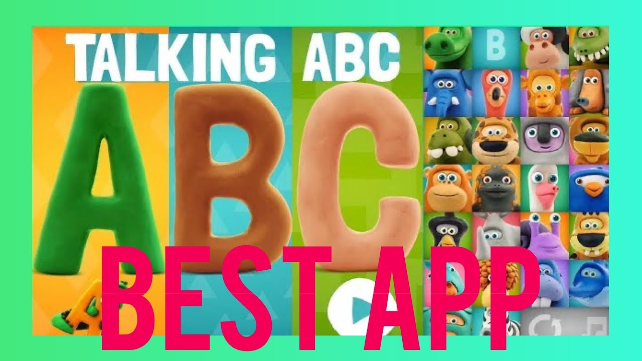 Abc Talking Abc English By Hey Clay Com Best Kids Ipad