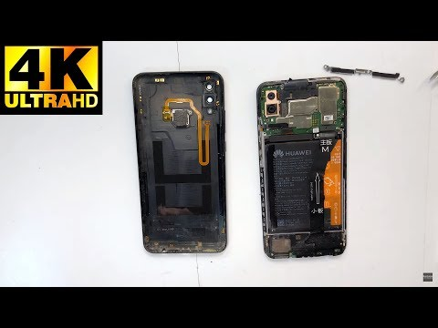 Huawei P Smart 2019 POT-L21 POT-LX1 - замена экрана, разборка / LCD replacement disassembly