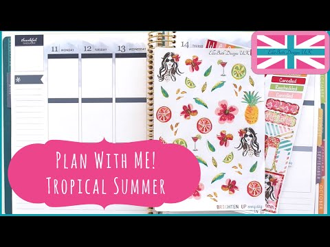 Plan With Me: Tropical Summer!