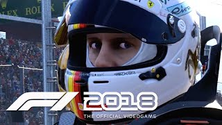 F1 2018 - Official Gameplay Trailer