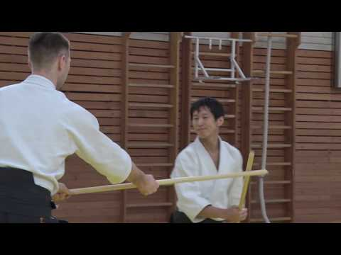 Shirakawa Ryuji sensei - aikido seminar in Saint Petersburg