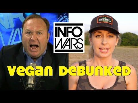 InfoWars: Vegan Is Unsustainable Diet Of Trendy Liberals