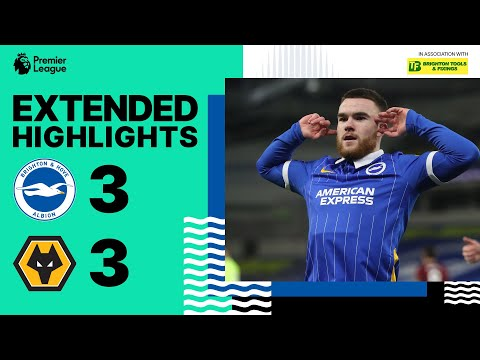 Extended PL Highlights: Albion 3 Wolves 3
