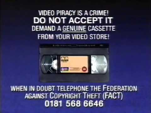 Piracy Warning (Columbia TriStar)