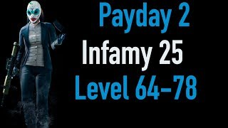 Payday 2 Infamy 25 | Part 2 | Level 64-78 | Xbox One