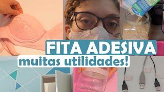 9 UTILIDADES DIFERENTES DA FITA ADESIVA 😲