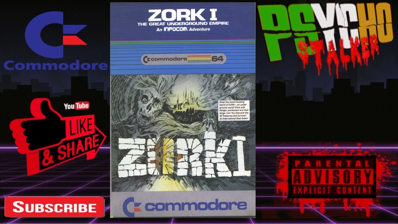 LATE NIGHT GAMING Presents ZORK I on the C64