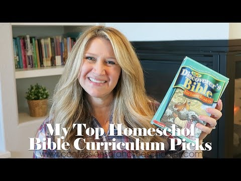 Our Top Homeschool Bible Curriculum Picks