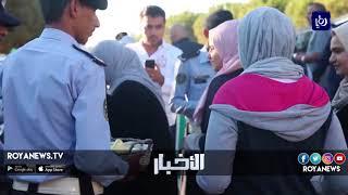 شرطة السير توزع حلوى العيد - (21-8-2018)