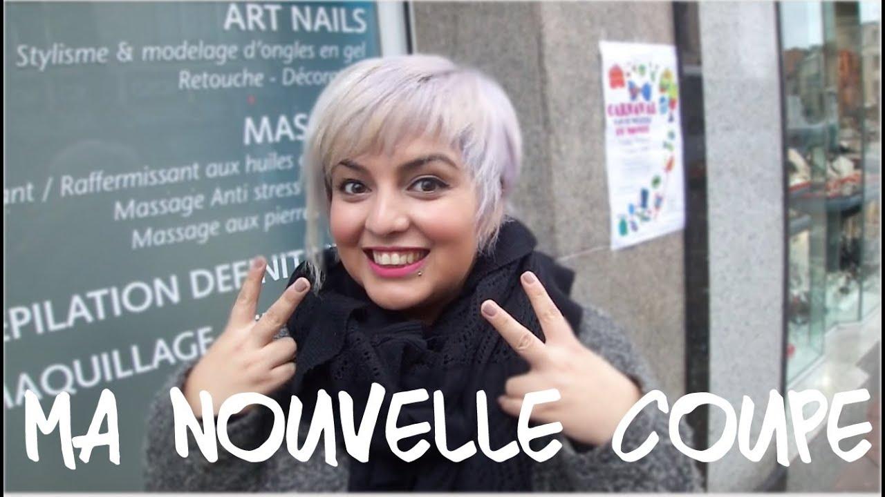 Nouvelle coupe de cheveux salon abiga l youtube - Coupe de cheveux femme rase ...