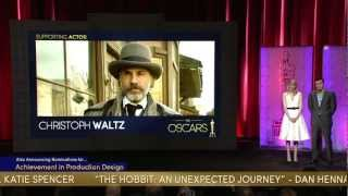 Oscars Nominations 2013 Video