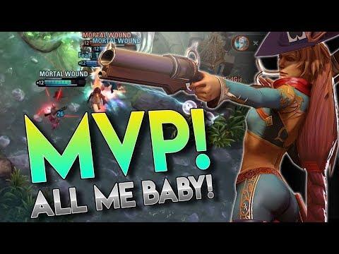 MVP BABY!! Vainglory 5v5 Gameplay - Gwen |WP| Bottom lane Gameplay