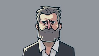 Drawing Logan in Inkscape Flat Character Design
