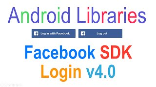 Android Facebook Login Tutorial v4.0 : Android Libraries [HD 1080p]