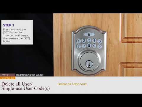 Electronic Deadbolt (compact Interior) - User Guide