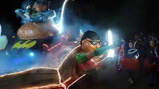 Carnaval licht optocht in Netterden
