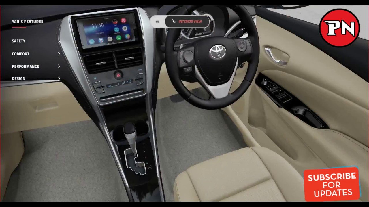 New Toyota Yaris 2018 Launched In India Complete Interior And Exterior Review With Price Youtube