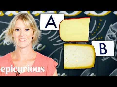 Cheese Expert Guesses More Cheap vs Expensive Cheeses   Price Points   Epicurious