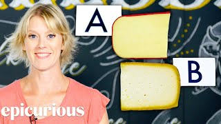 Download Cheese Expert Guesses More Cheap vs Expensive Cheeses | Price Points | Epicurious Mp3 and Videos